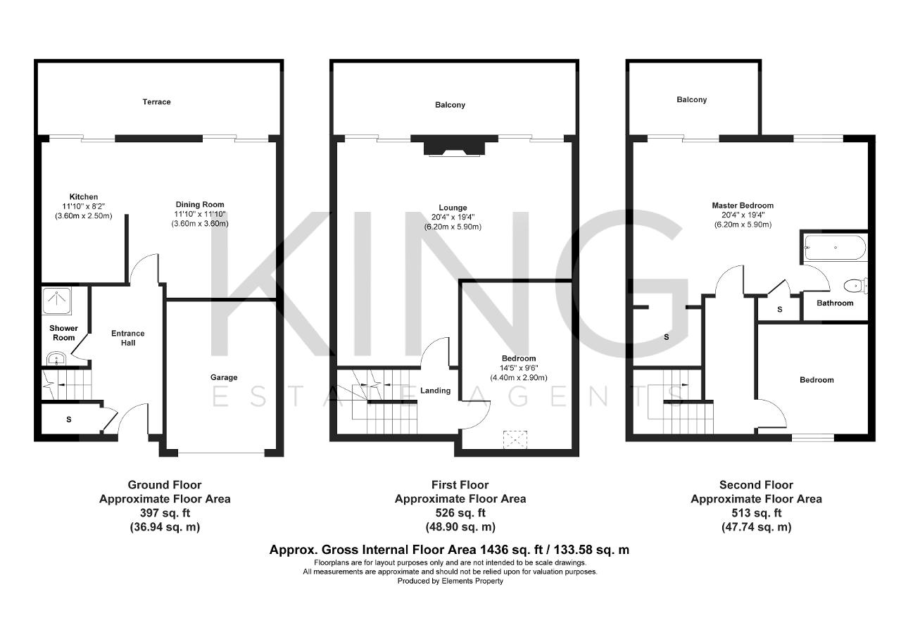 Floorplan for Woodley Headland, Peartree Bridge, Milton Keynes, MK6 3PA