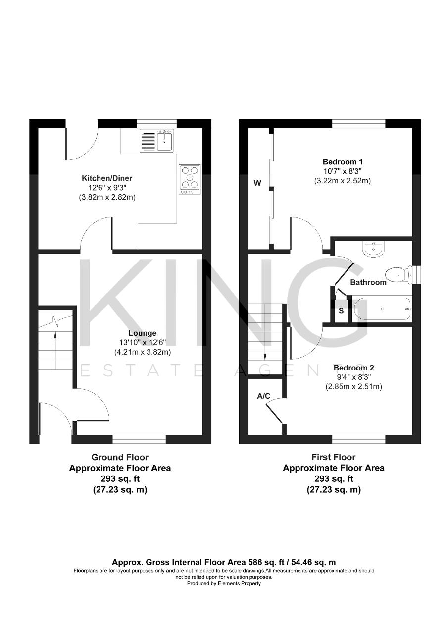 Floorplan for Sweetlands Corner, Kents Hill, Milton Keynes, Buckinghamshire, MK7 6DR