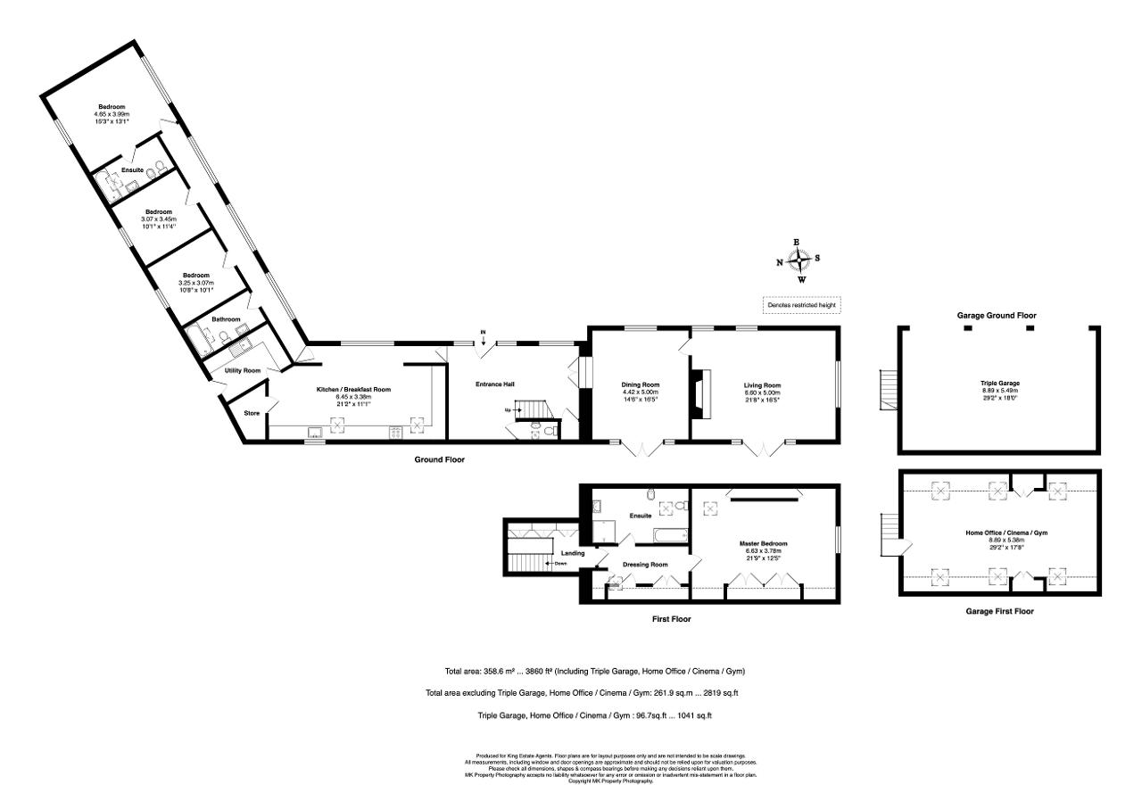 Floorplan for Hereford Court, Preston Deanery, Northampton, Northamptonshire, NN7 2DS