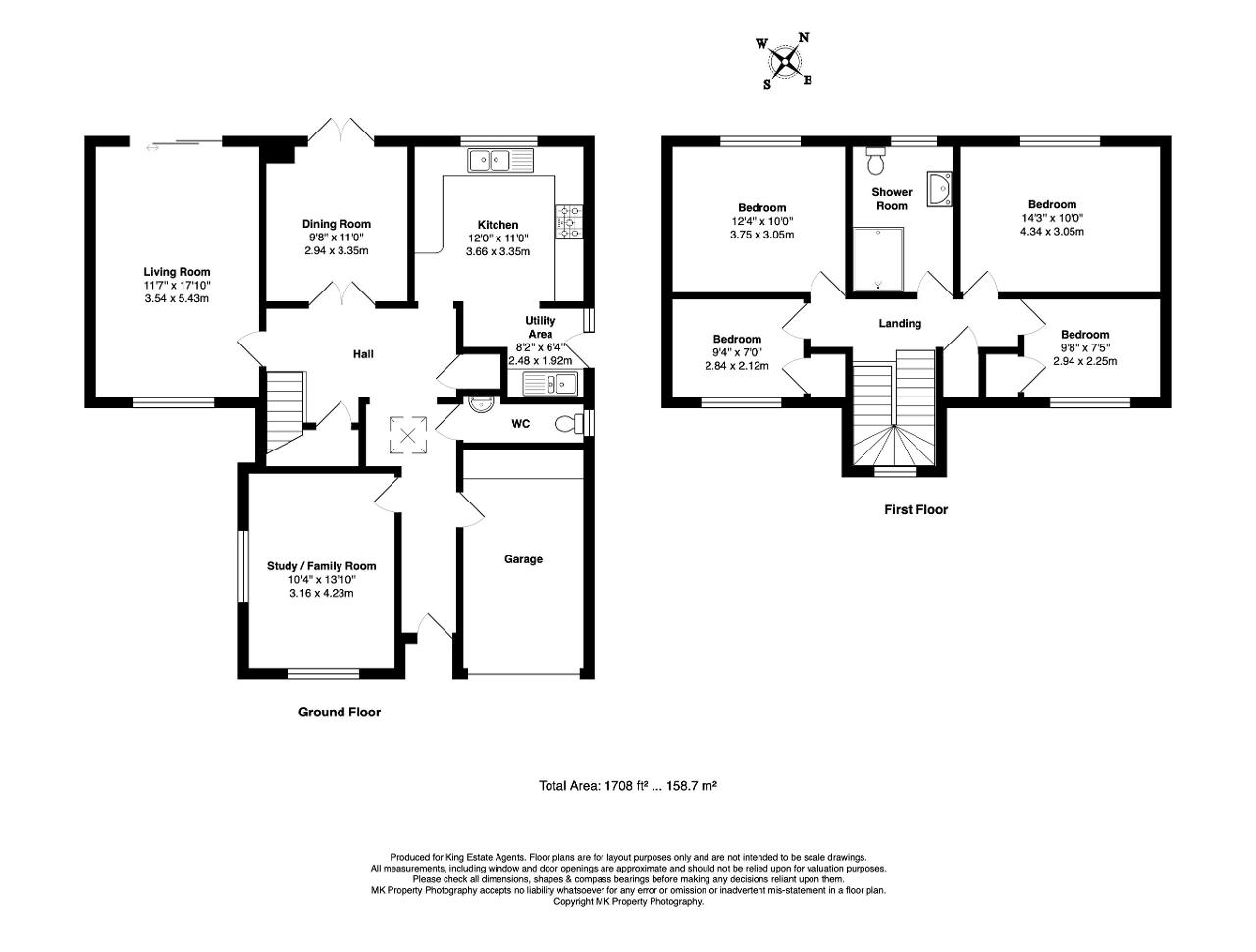 Floorplan for Blackmoor Gate, Furzton, Milton Keynes, Buckinghamshire, MK4 1DN