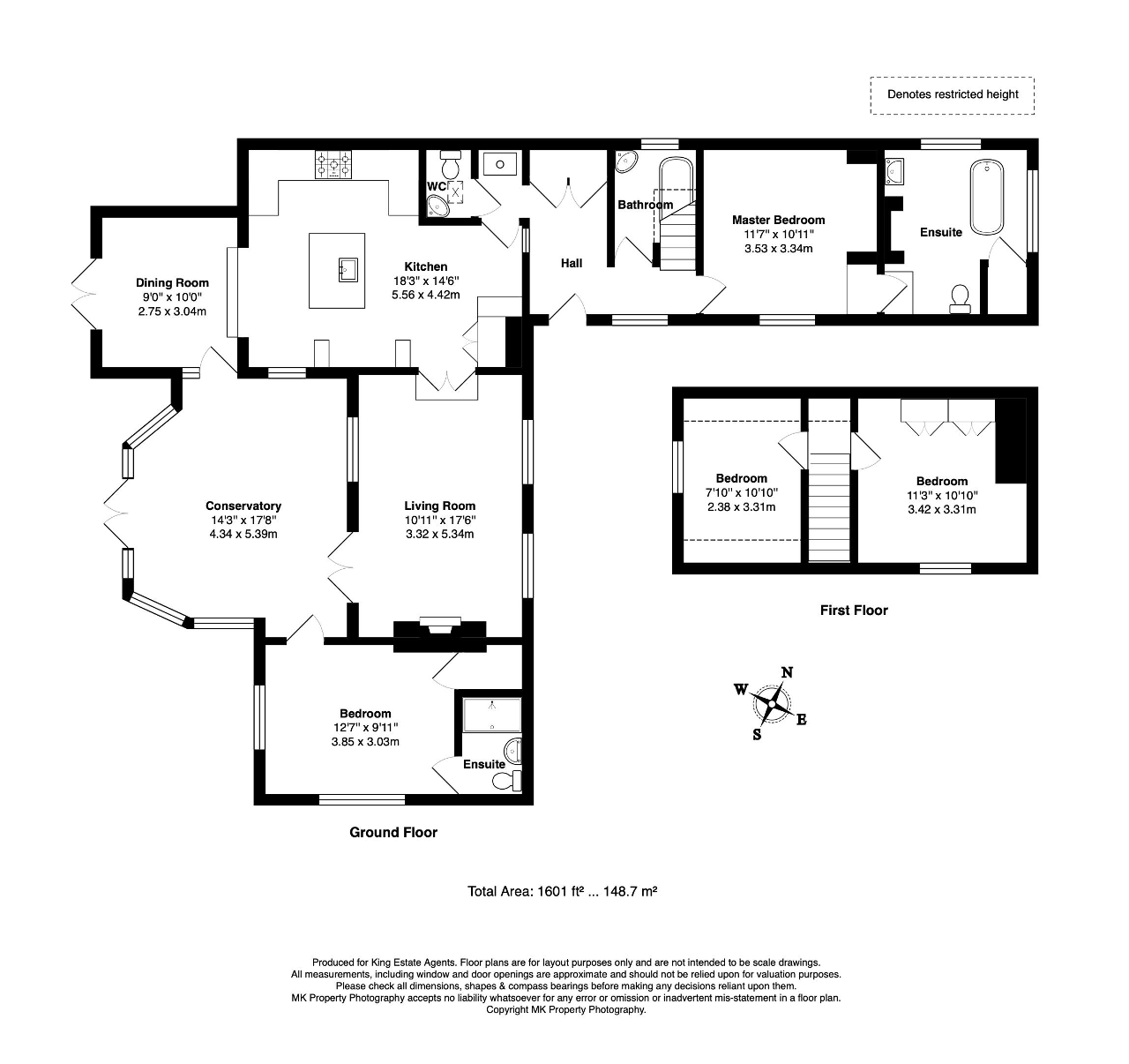 Floorplan for Newport Road, Moulsoe, Newport Pagnell, MK16 0HW