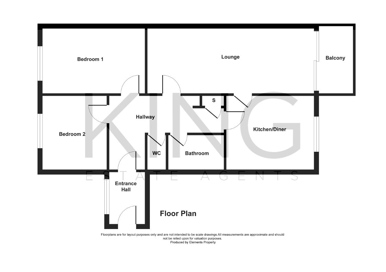 Floorplan for Ramsons Avenue, Conniburrow, Milton Keynes, Buckinghamshire, MK14 7BH