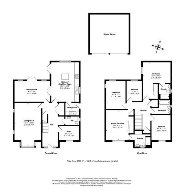 Floorplan for Trafalgar Drive, Brooklands, Milton Keynes, Buckinghamshire, MK10 7ER