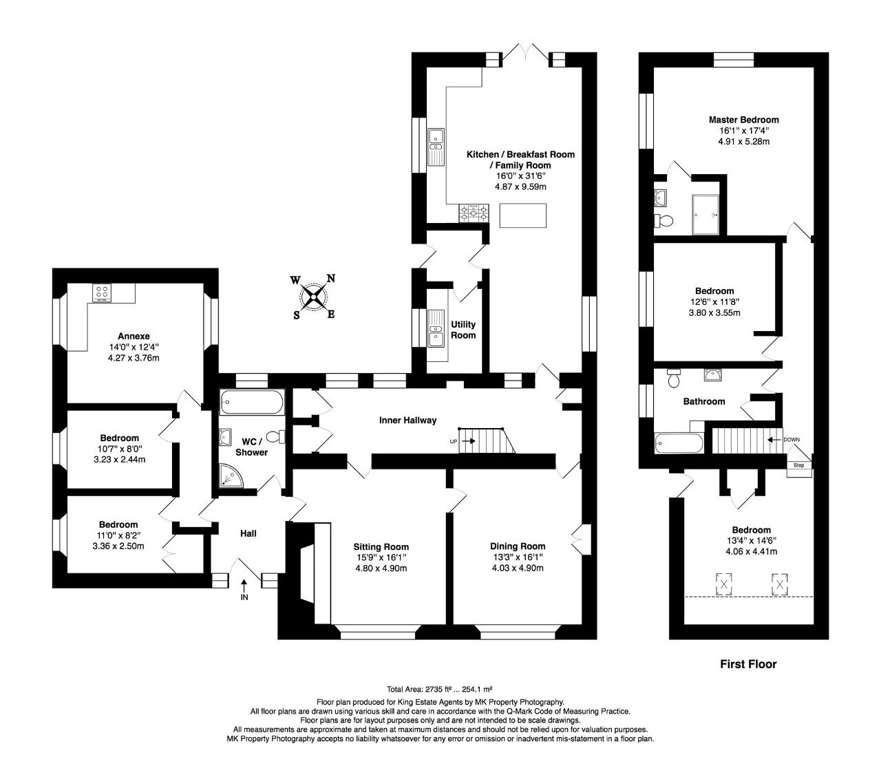 Floorplan for Main Street, Cosgrove, MK19 7JL