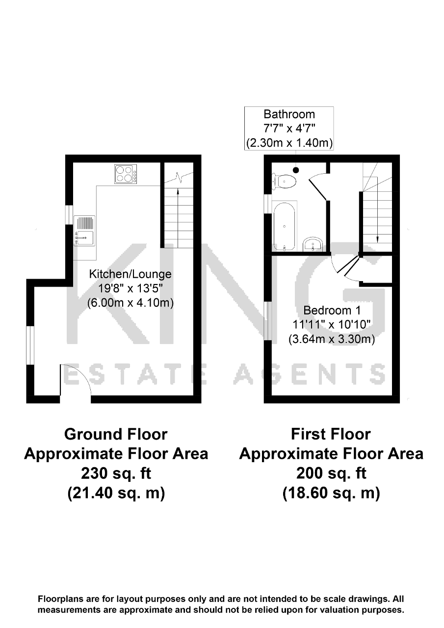 Floorplan for Pimpernel Grove, Walnut Tree, Milton Keynes, Buckinghamshire, MK7 7LG