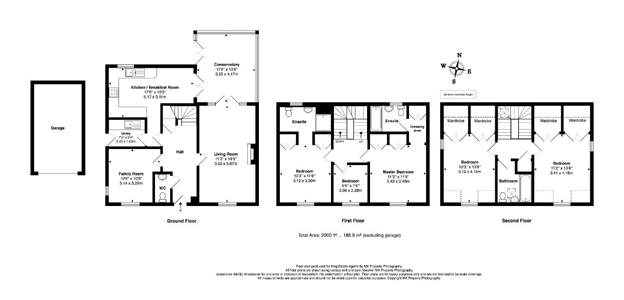 Floorplan for Glendurgan Court, Westcroft, Milton Keynes, Buckinghamshire, MK4 4GN