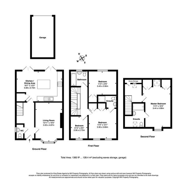 Floorplan for Colindale Street, Monkston Park, Milton Keynes, Buckinghamshire, MK10 9PX
