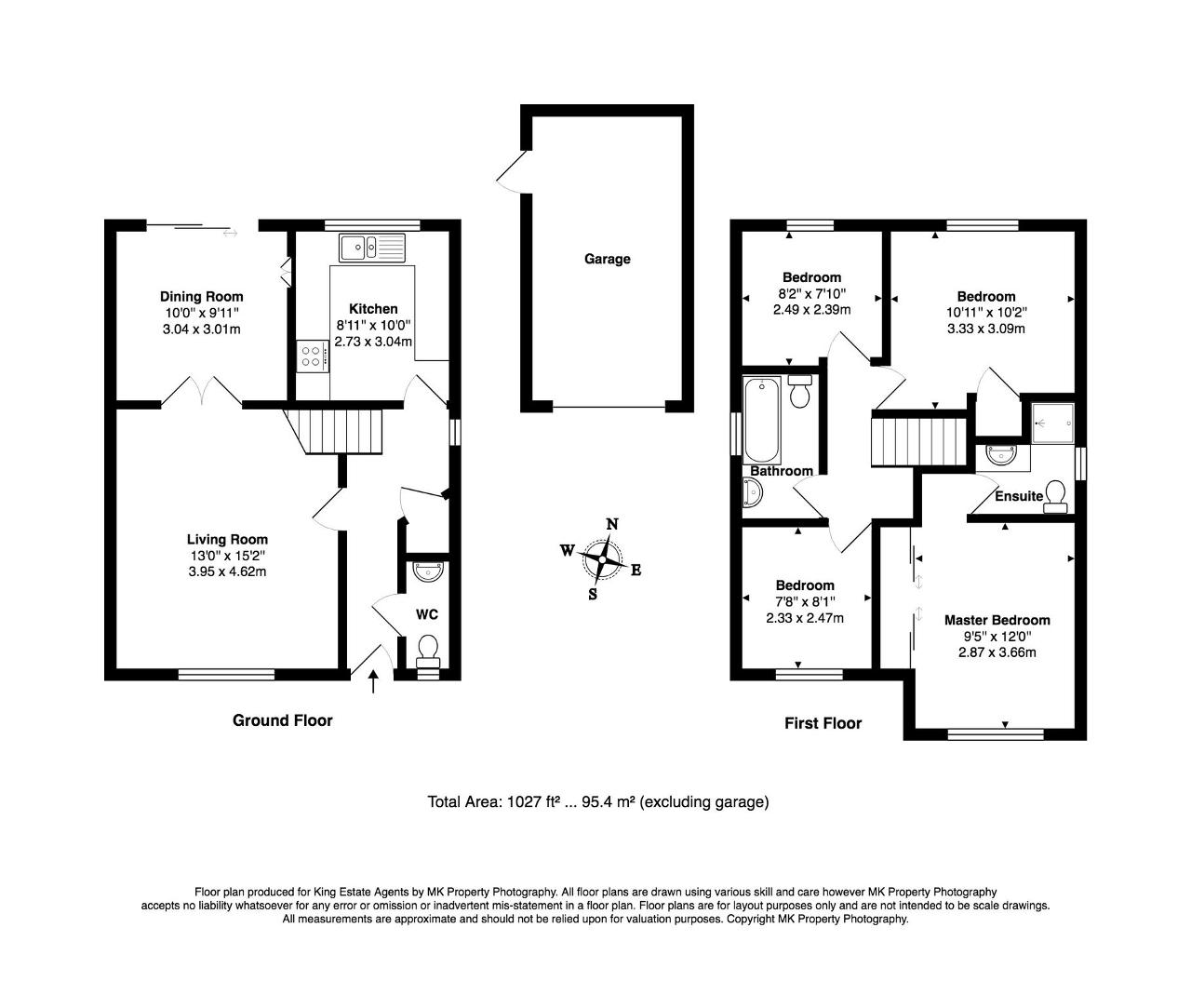 Floorplan for Dulverton Drive, Furzton, Milton Keynes, Buckinghamshire, MK4 1DF