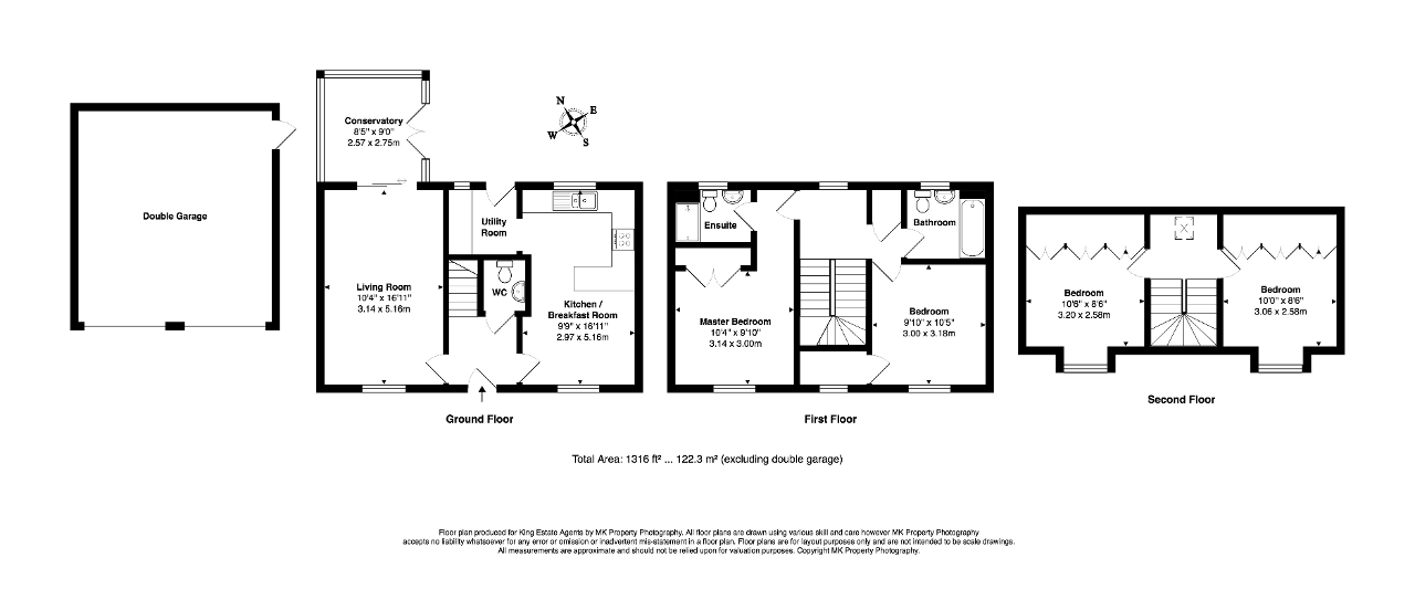 Floorplan for Welsummer Grove, Shenley Brook End, Milton Keynes, Buckinghamshire, MK5 7GE
