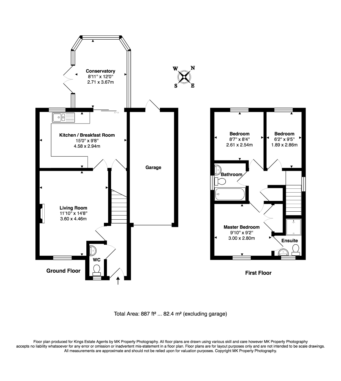 Floorplan for Emmett Close, Emerson Valley, Milton Keynes, Buckinghamshire, MK4 2DY