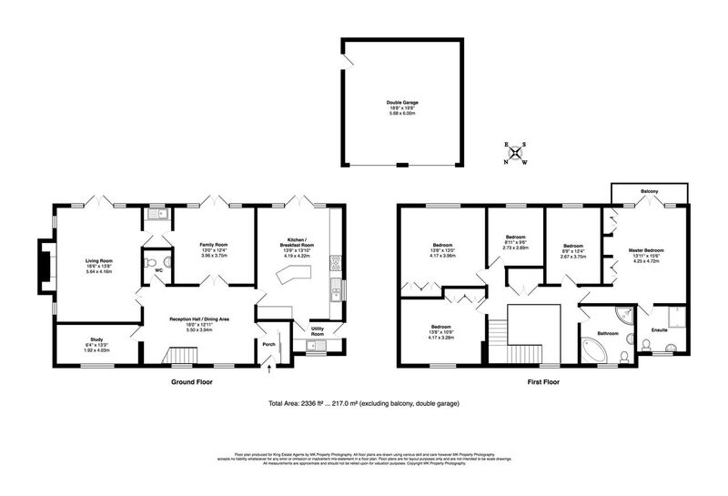 Floorplan for Rylstone Close, Heelands, Milton Keynes, Buckinghamshire, MK13 7QT
