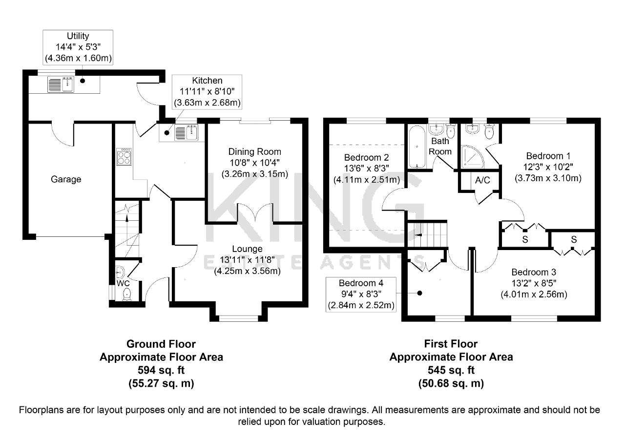 Floorplan for Brampton Court, Bradville, Milton Keynes, Buckinghamshire, MK13 7HR