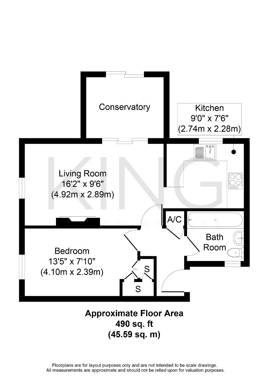 Floorplan for Martingale Place, Downs Barn, Milton Keynes, Buckinghamshire, MK14 7QN