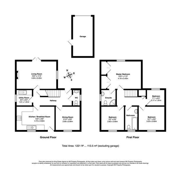 Floorplan for High Street, Potterspury, NN12 7PQ