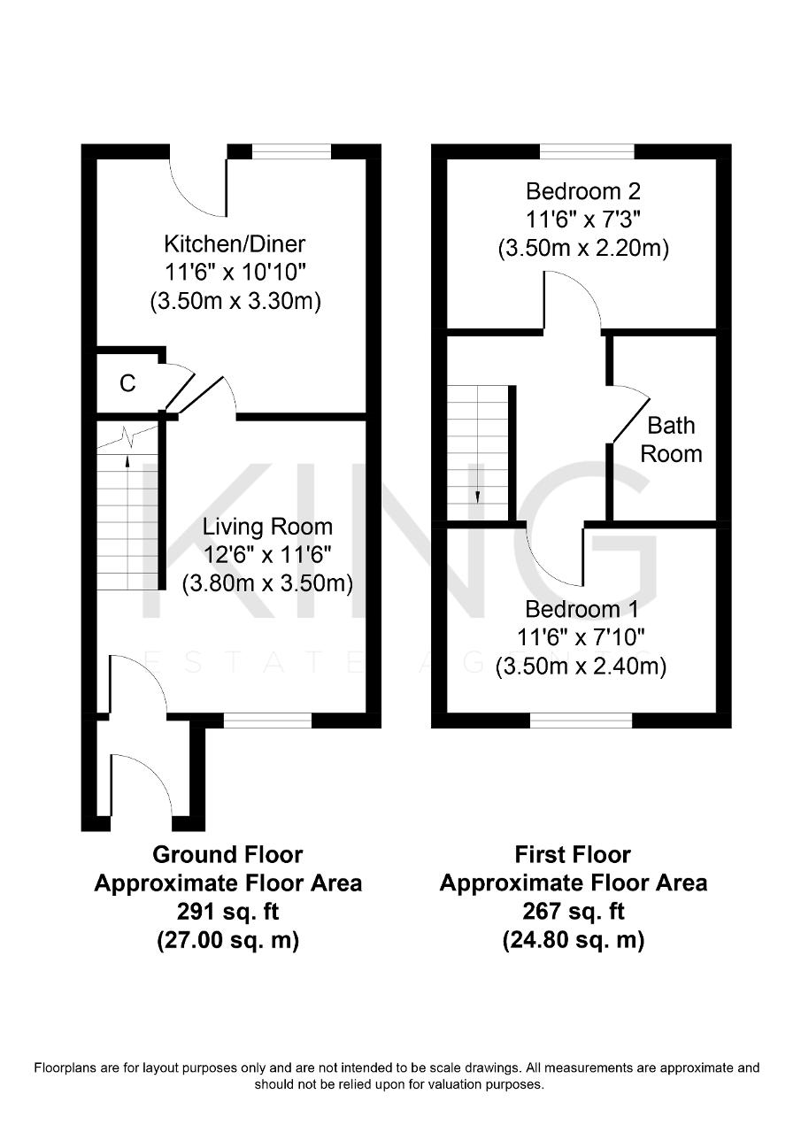 Floorplan for Greystonley, Emerson Valley, Milton Keynes, Buckinghamshire, MK4 2JY
