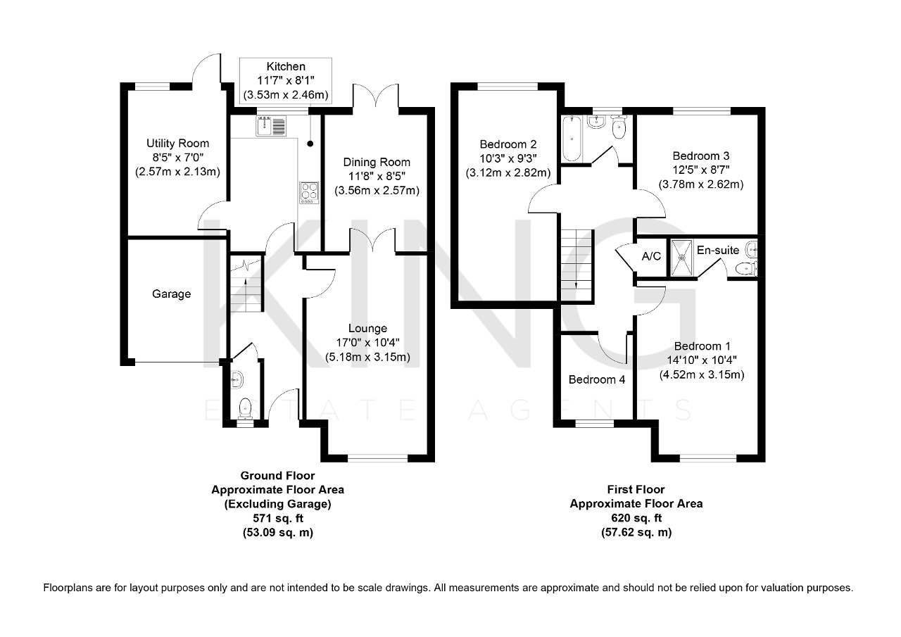 Floorplan for Chancery Close, Bradville, Milton Keynes, Buckinghamshire, MK13 7HZ