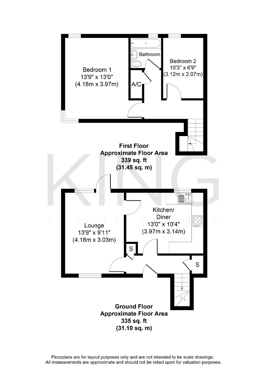 Floorplan for Dunchurch Dale, Walnut Tree, Milton Keynes, Buckinghamshire, MK7 7BT