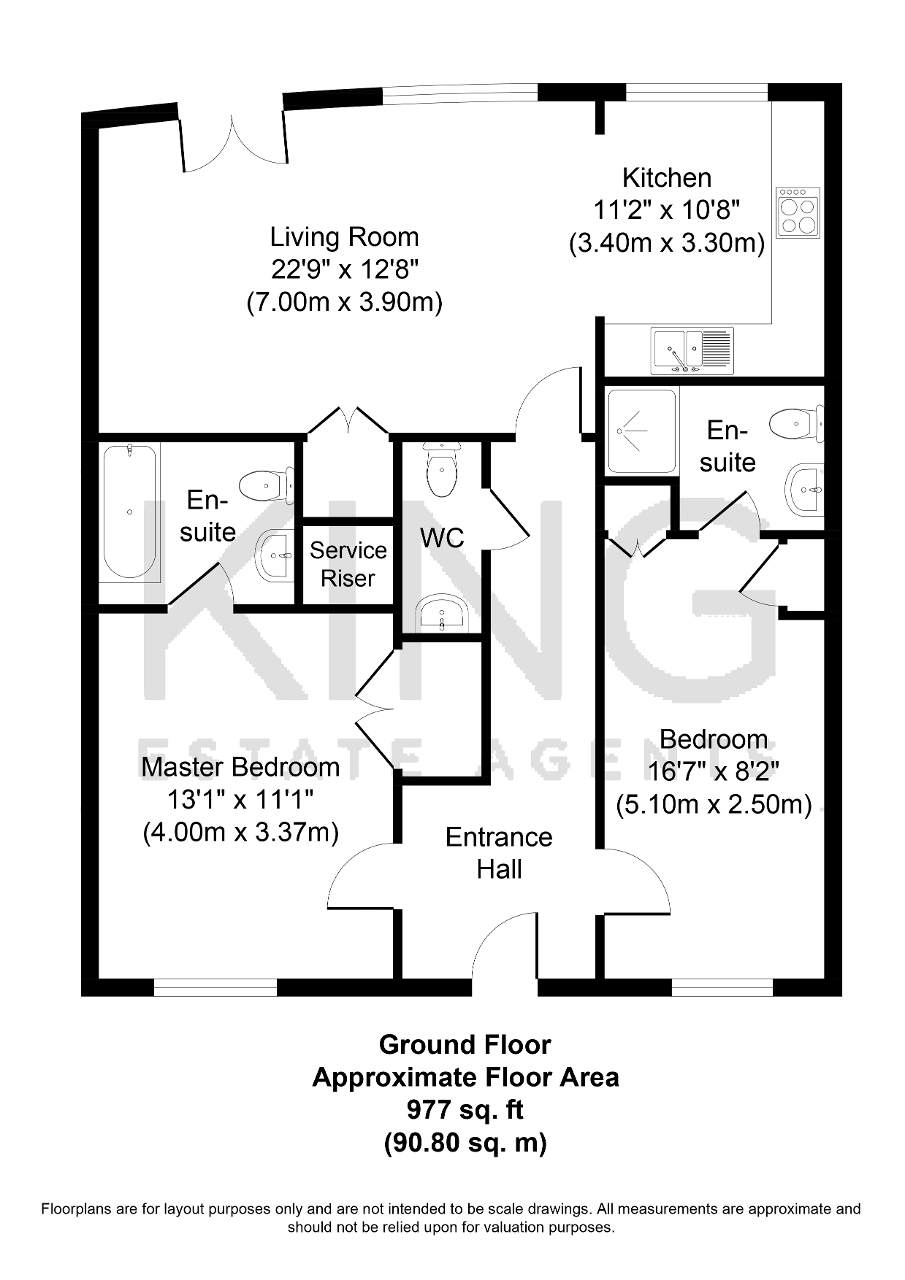 Floorplan for Huntley Crescent, Campbell Park, Milton Keynes, Buckinghamshire, MK9 3FZ