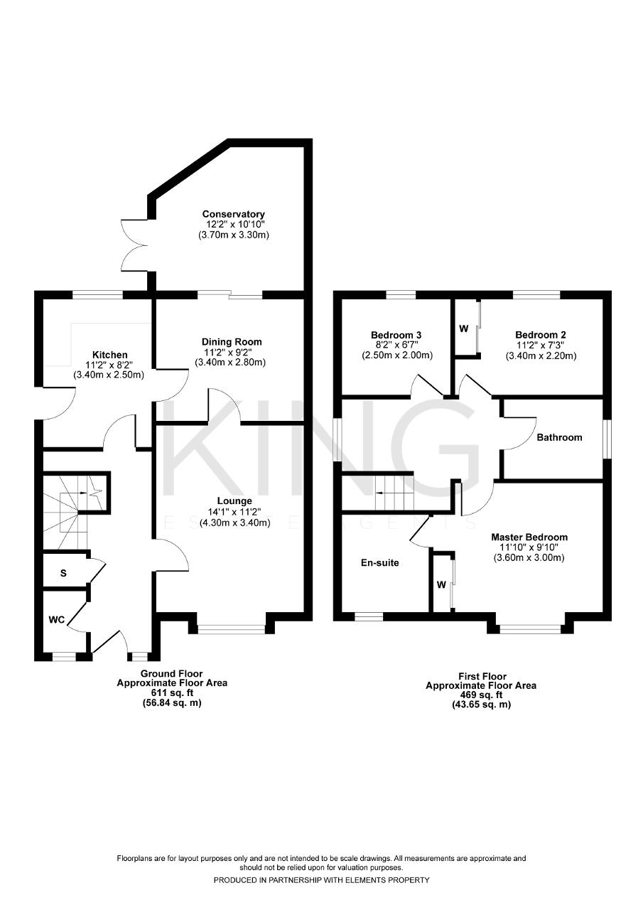 Floorplan for Britten Grove, Old Farm Park, Milton Keynes, Buckinghamshire, MK7 8QJ