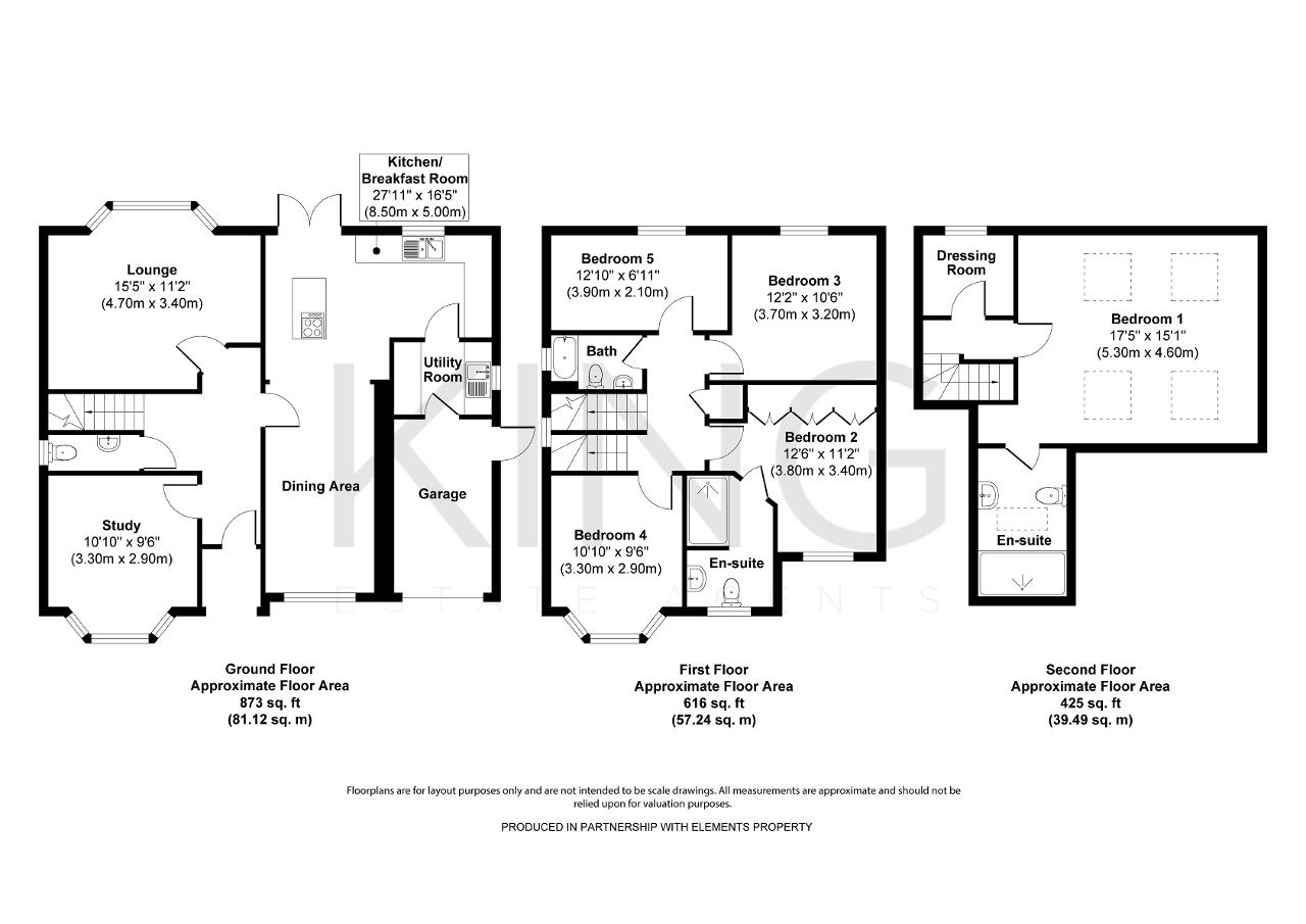 Floorplan for Monmouth Grove, Kingsmead, Milton Keynes, Buckinghamshire, MK4 4AZ