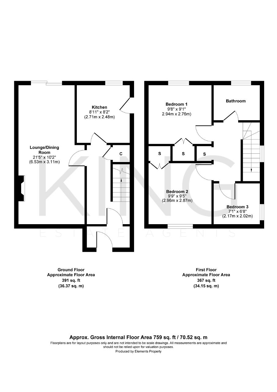 Floorplan for Berry Way, Newton Longville, Milton Keynes, MK17 0AS