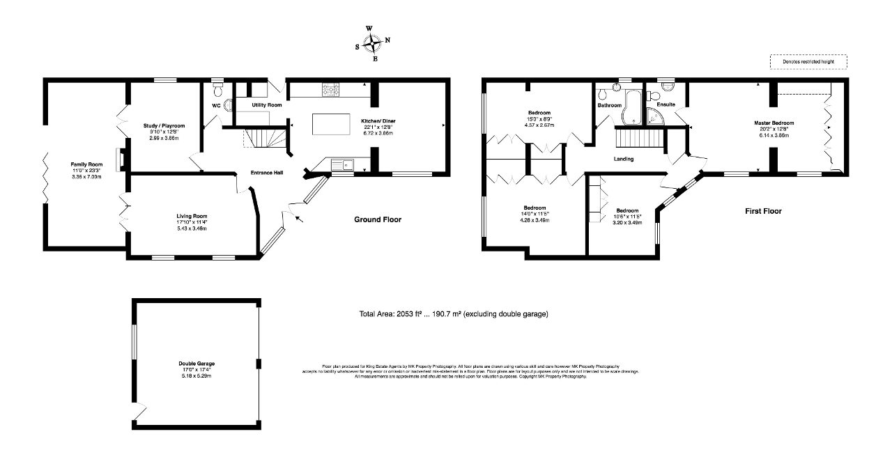 Floorplan for Chillery Leys, Willen, Milton Keynes, Buckinghamshire, MK15 9LZ