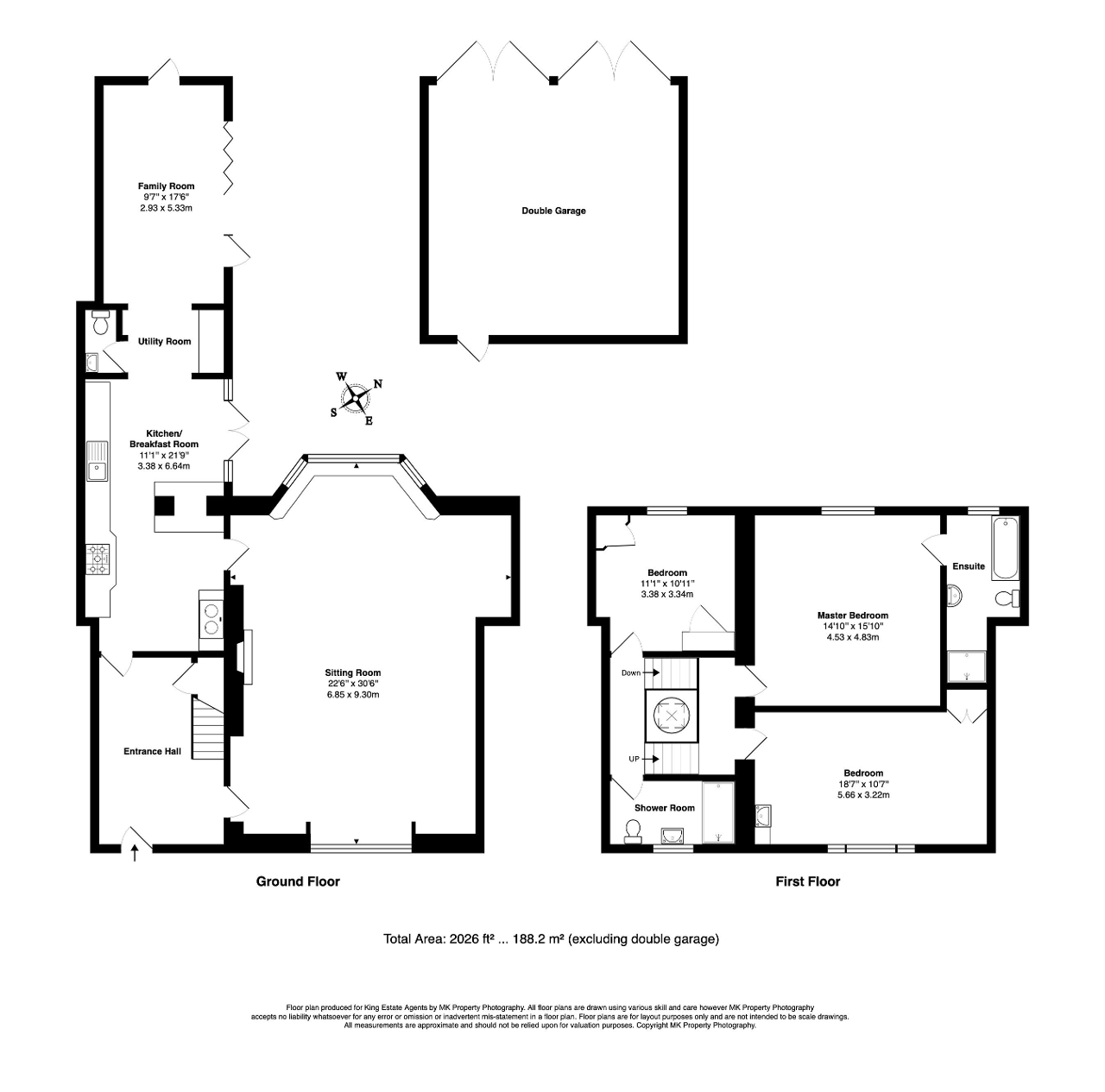 Floorplan for High Street, Olney, Buckinghamshire, MK46 4EB