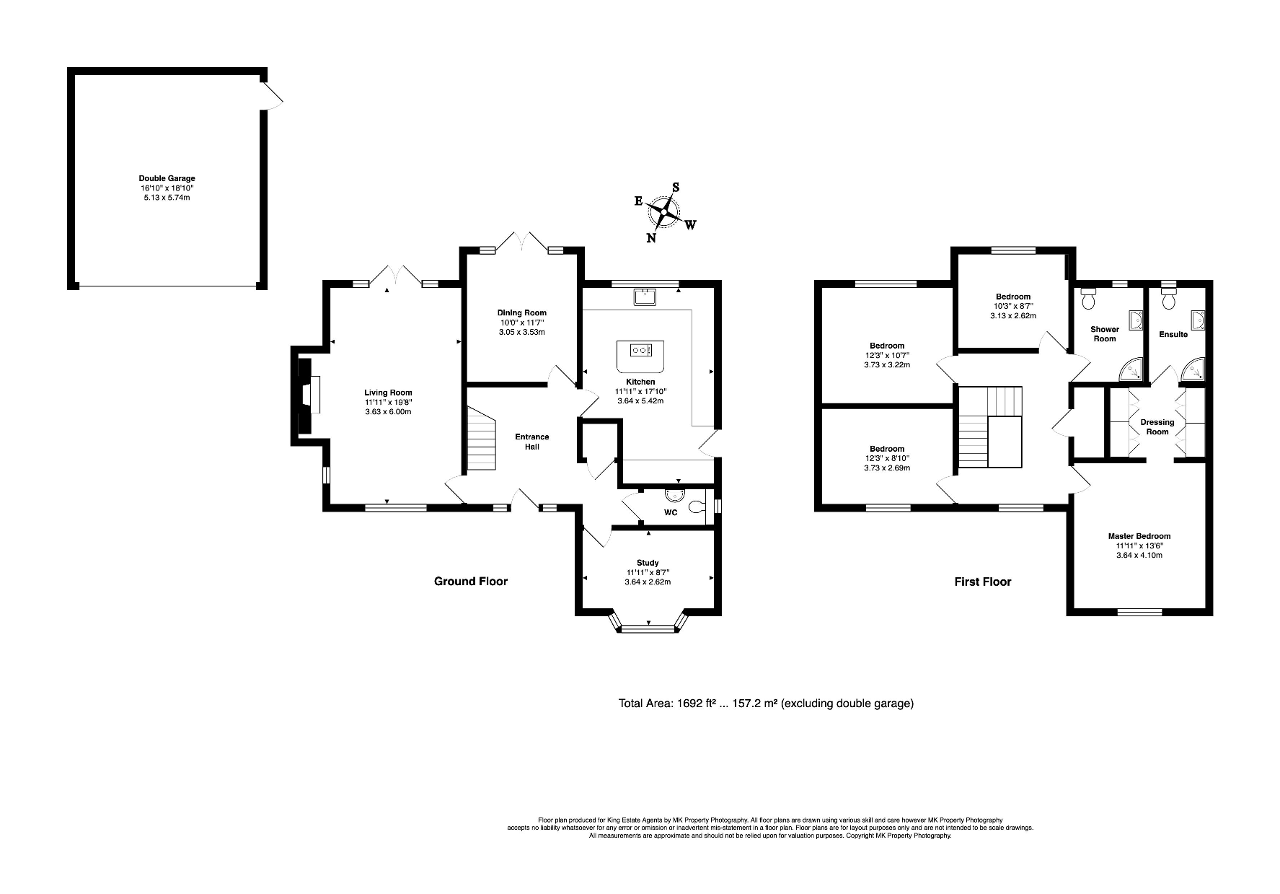 Floorplan for Rusland Circus, Emerson Valley, Milton Keynes, Buckinghamshire, MK4 2LL