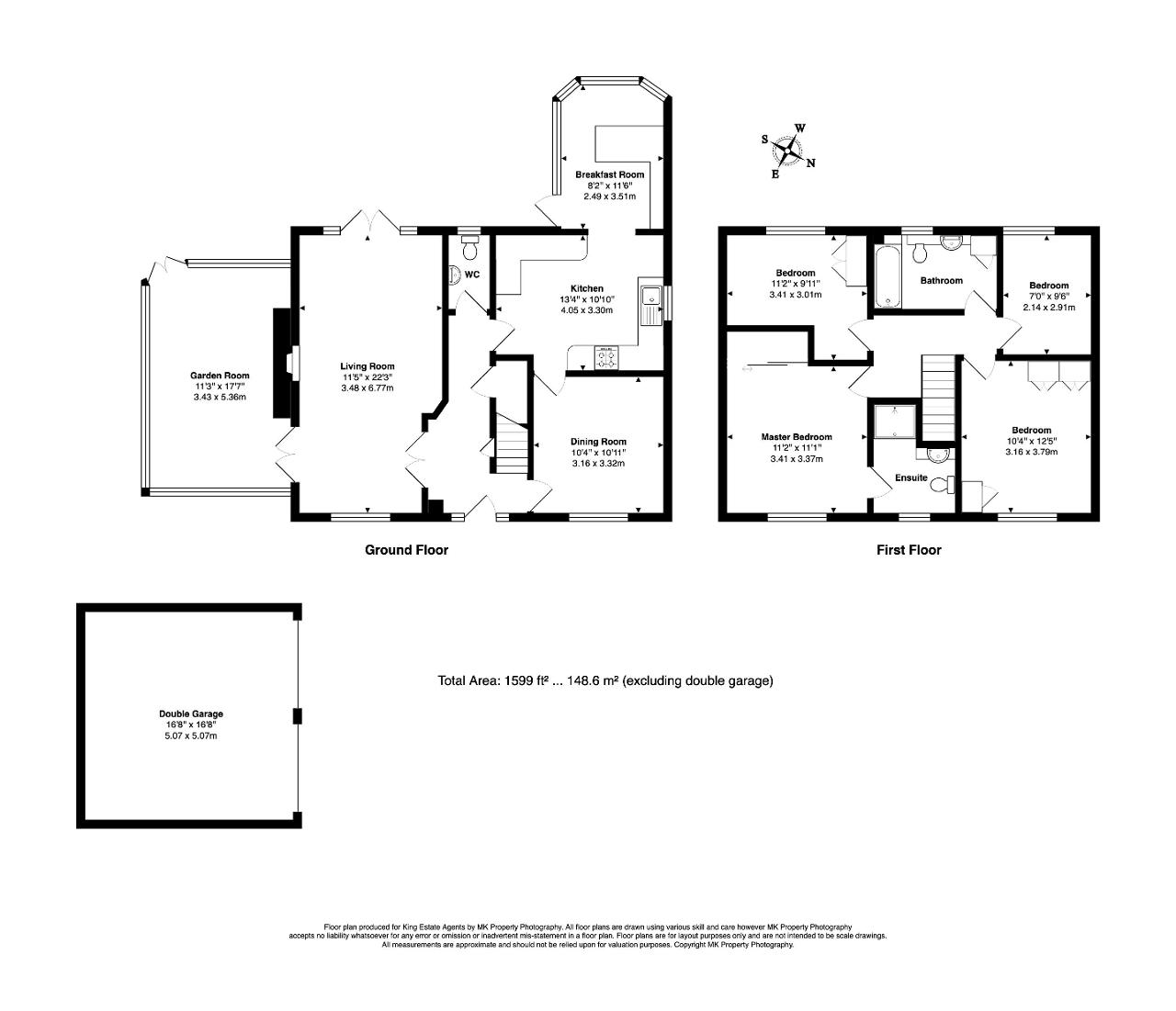Floorplan for Millington Gate, Willen, Milton Keynes, Buckinghamshire, MK15 9HT