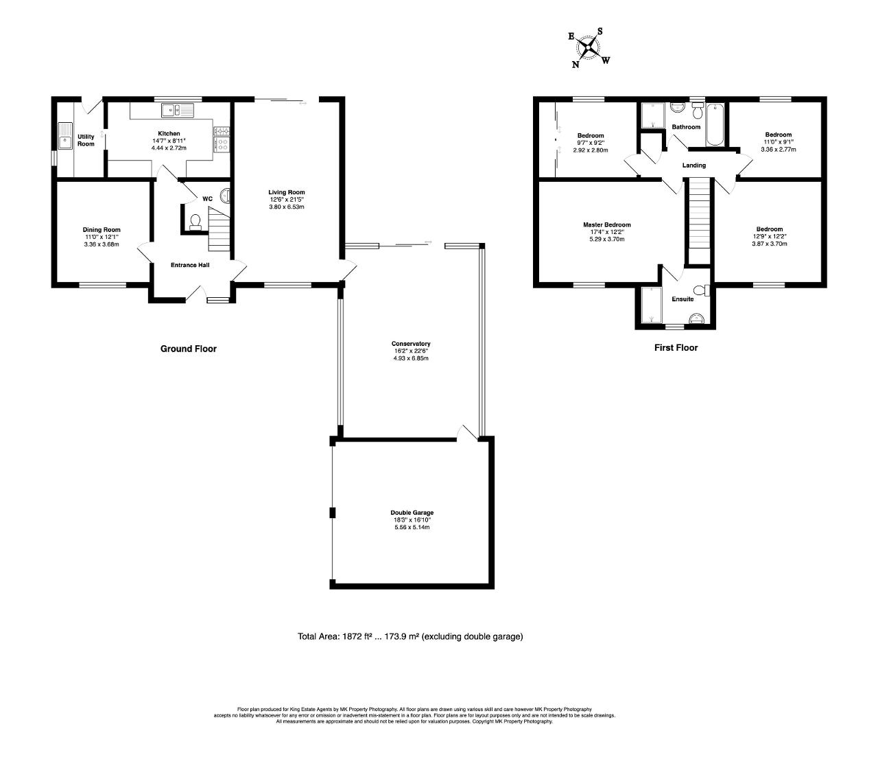 Floorplan for Rackstraw Grove, Old Farm Park, Milton Keynes, Buckinghamshire, MK7 8PZ