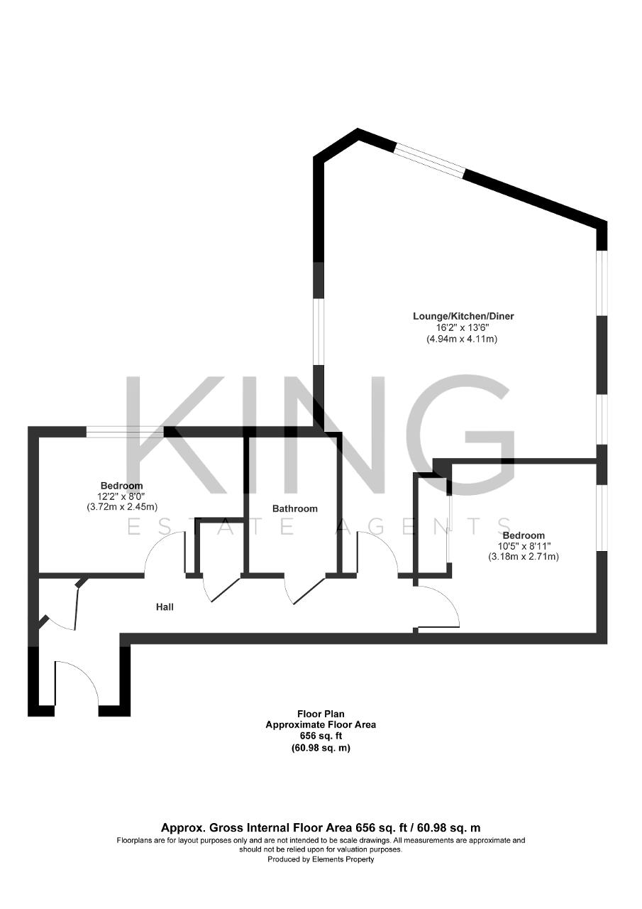 Floorplan for Top Fair Furlong, Redhouse Park, Milton Keynes, Buckinghamshire, MK14 5FQ