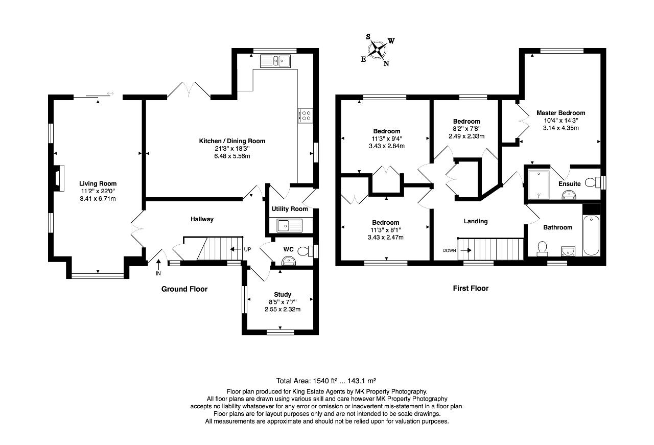 Floorplan for Hengistbury Lane, Tattenhoe, Milton Keynes, Buckinghamshire, MK4 3EL