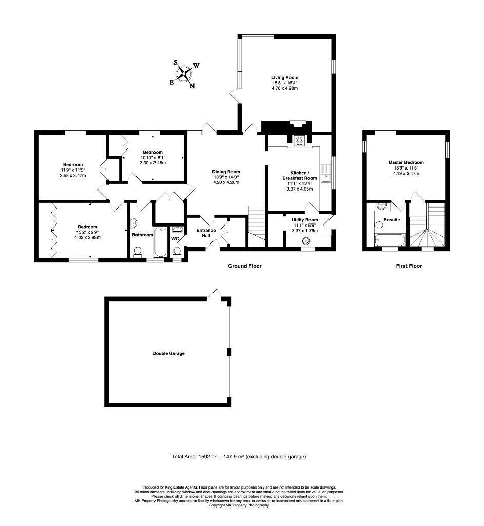 Floorplan for Mickleton, Downhead Park, Milton Keynes, Buckinghamshire, MK15 9AT