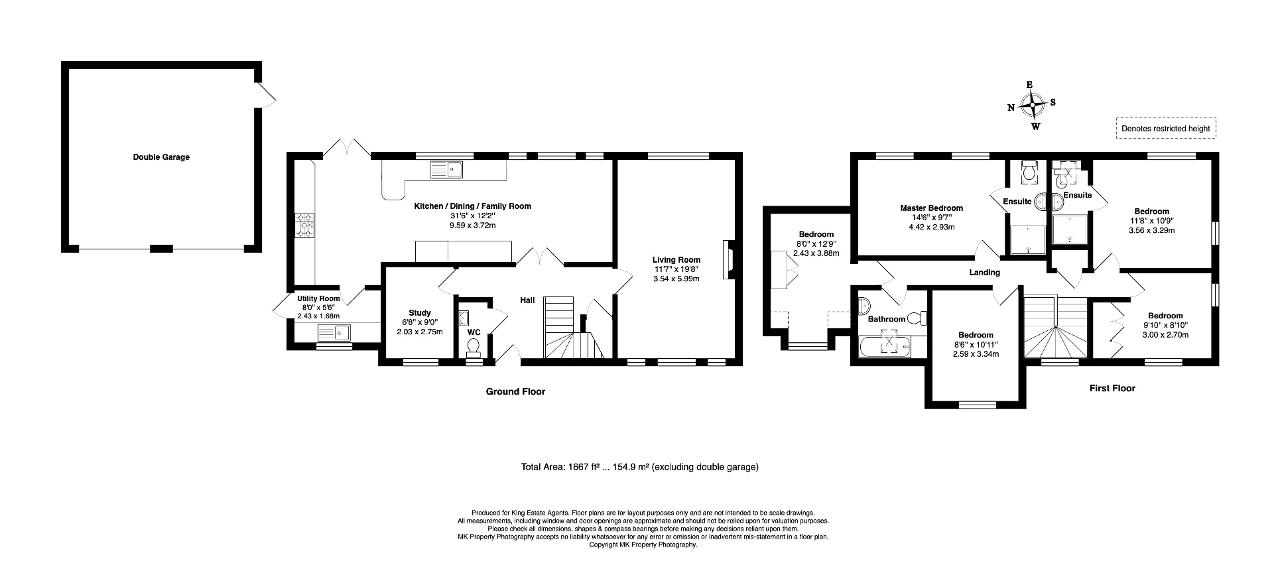Floorplan for Berrystead, Caldecotte, Milton Keynes, Buckinghamshire, MK7 8LT