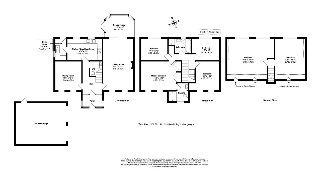 Floorplan for Wenning Lane, Emerson Valley, Milton Keynes, Buckinghamshire, MK4 2JF